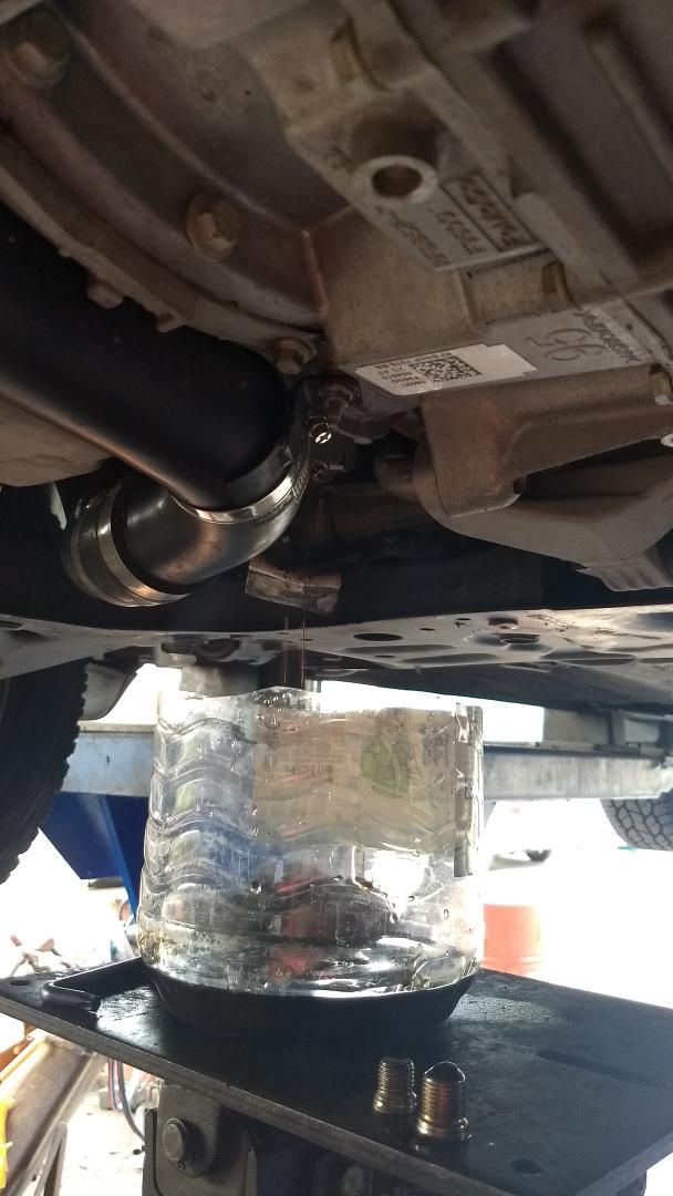 PTU and Rear Diff Oil Change   2013+ Ford Escape Forum