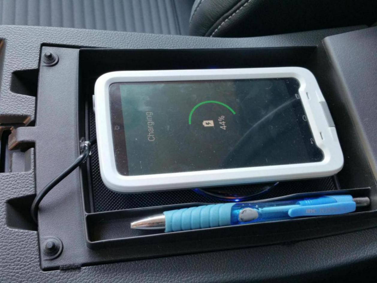 Installed A Qi Phone Charger 2013 Ford Escape Forum