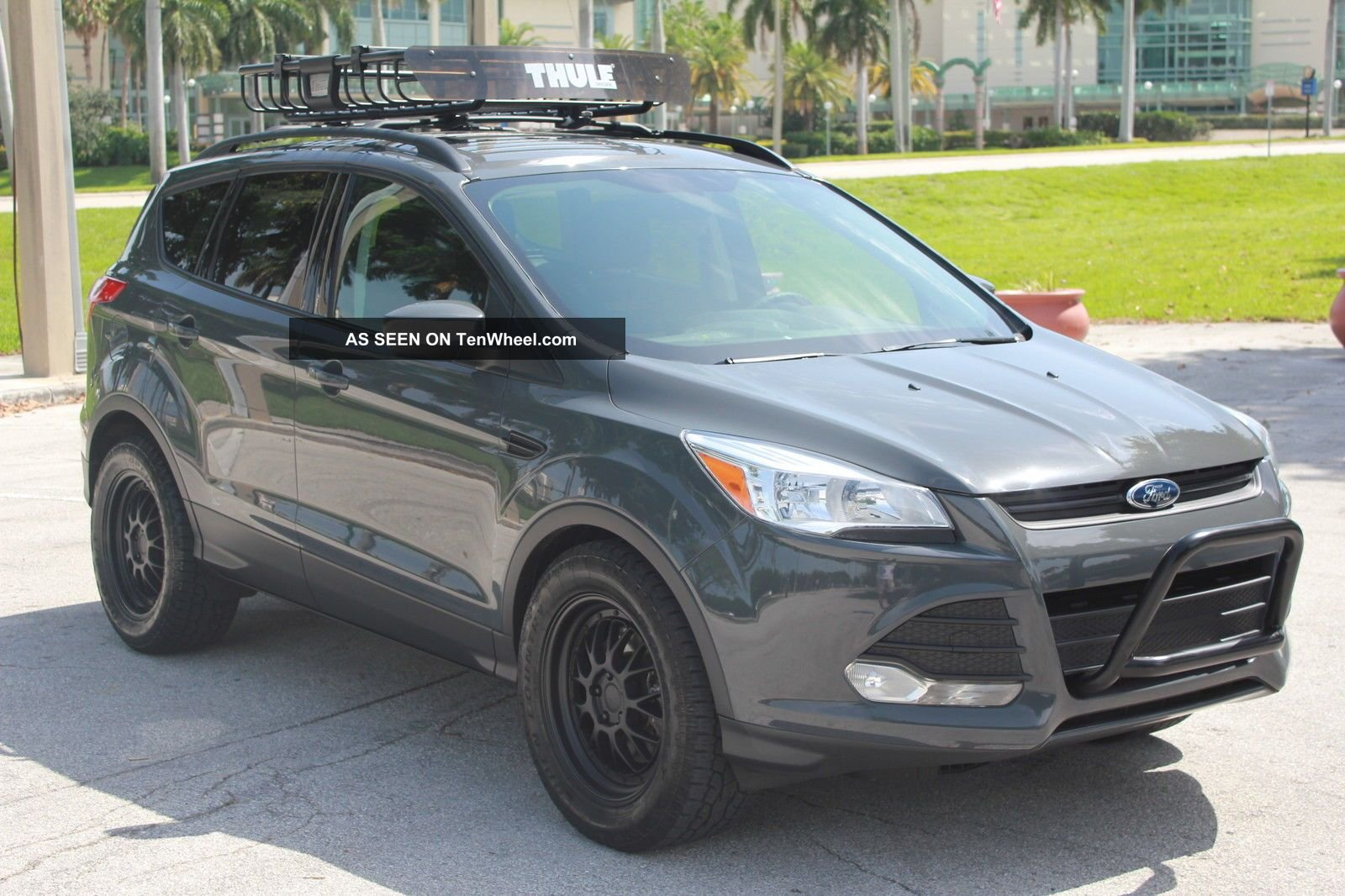 2014 Ford Escape Tires >> Thickest A T Tires For 18 Inchers On An Sel 2013 Ford