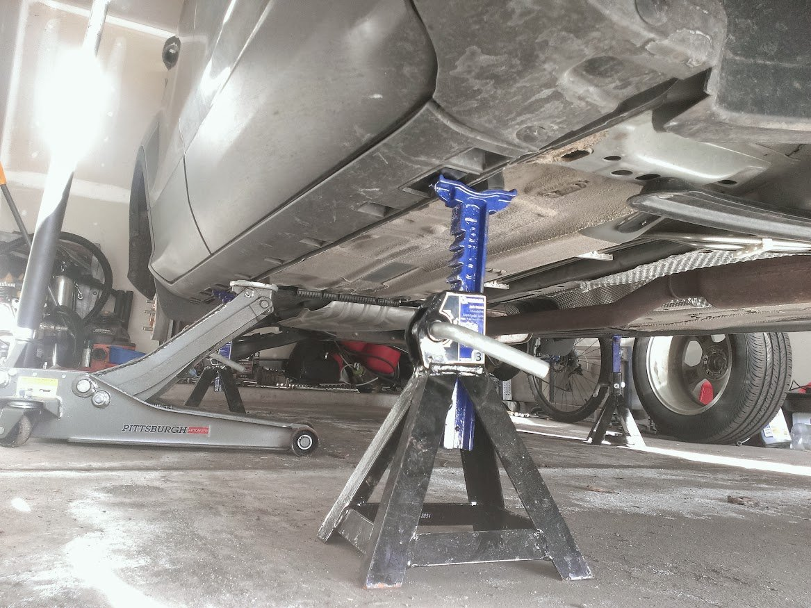Floor Jack Lifting Points With Jack Stands 2013 Ford Escape Forum