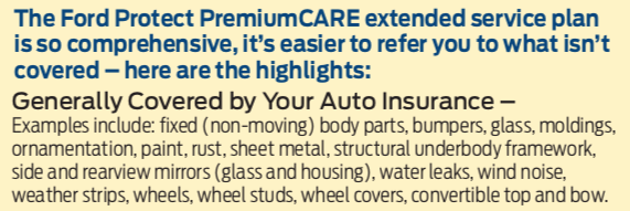 Ford Extended Warranty Premium Care >> Warranty Coverage Reported Before Fixed After Who Pays